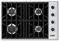 "VGSU104-4BBK Viking 30"" Gas Cooktop Pro Series - Natural Gas - Black"
