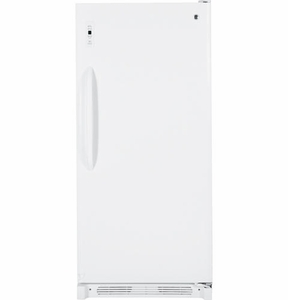 FUF21SVRWW GE 20.6 Cu. Ft. Frost-Free Upright Freezer - White