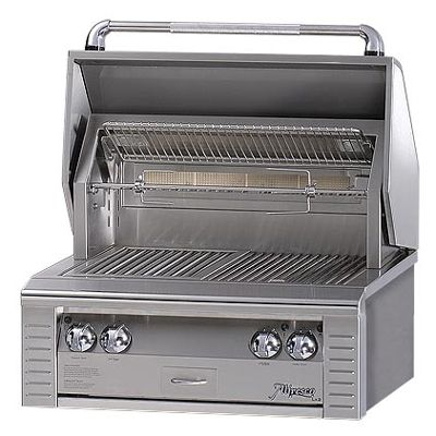 "ALX230IRN Alfresco 30"" Built-In All Infra-Red Outdoor Grill - Natural Gas - Stainless Steel"