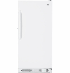 FUM14SVRWW GE 14.1 Cu. Ft. Manual Defrost Upright Freezer - White