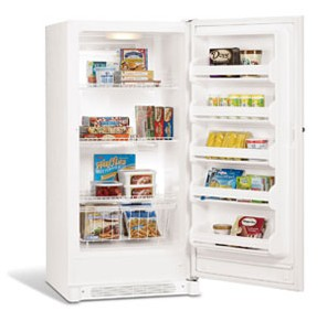 FFU14F5HW Frigidaire 13.7 Cu. Ft. Upright Freezer - White