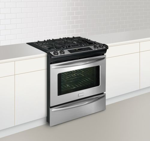 "FGGS3045KF Frigidaire Gallery Premier 30"" Slide-In Gas Range - Stainless Steel"
