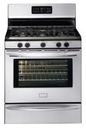 DGGF3042KF Frigidaire Gallery Series 30'' Freestanding Gas Range with Black Porcelain Cooktop - Stainless Steel