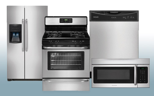 Package 14 - Frigidaire Builder's Special Package - 4 Piece Appliance Package - Stainless Steel - Gas