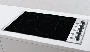 "FPEC3685KS Frigidaire Professional 36"" Electric Drop-In Cooktop"