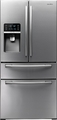 RF4267HARS Samsung 25.5 Cu. Ft. French Door Refrigerator with Thru-the-Door Ice and Water - Stainless Steel