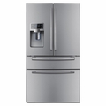 RF4287HARS Samsung 28 Cu. Ft. 4 Door French Door Refrigerator with Dispenser - Stainless Steel