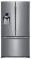 RFG237AARS Samsung 23 cu. ft.  French Door Counter Depth Refrigerator With Thru-The-Door Ice and Water - Stainless Steel