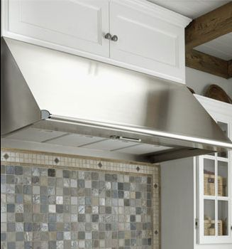 """EH3018SCH Dacor Renaissance 30"""" Wide Epicure 18"""" High Wall Mount Hood With 600 CFM Blower - Stainless Steel"""