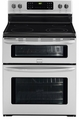 "FGEF301DNF Frigidaire Gallery 30"" Freestanding Electric Double Oven Range - Stainless Steel"
