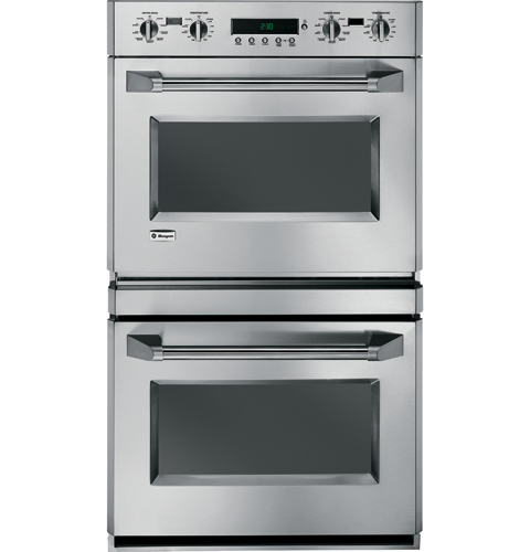 "ZET2PMSS GE Monogram� 30"" Double Professional Convection Wall Oven - Stainless Steel"