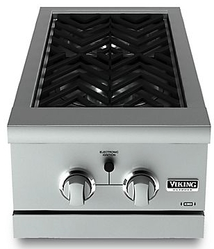 "VGSB5152N Viking Outdoor 15"" Wide Double Side Burners - Natural Gas - Stainless Steel"