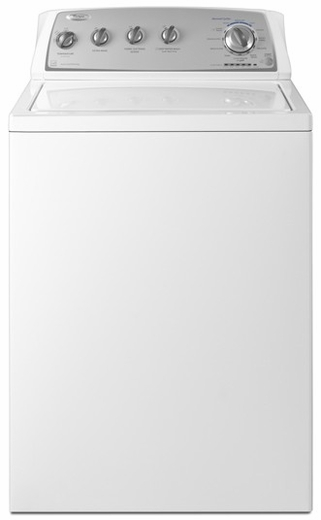 WTW4880AW Whirlpool 3.4 cu. ft. Top Load Washer with ENERGY STAR Qualification - White