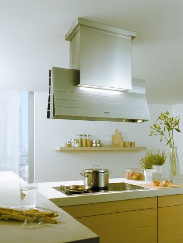 "DA5000D Miele 44"" Decor Island Hood - Stainless Steel"