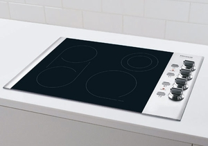 "FPEC3085KS Frigidaire Professional 30"" Electric Drop-In Cooktop"