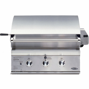 """BGB30-BQRN DCS 30"""" Outdoor Professional Grill - Natural Gas - Stainless Steel"""