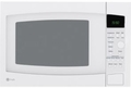 GE Countertop Microwaves - WHITE