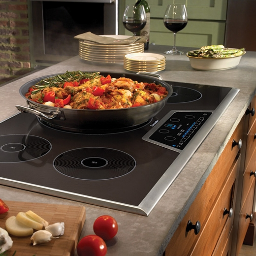 "CIT365GB Thermador 36"" Induction Cooktop with 5 Induction Zones - Black"