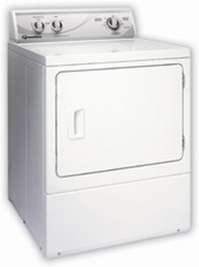 ADE4BR Speed Queen 7 Cu. Ft.  Rear Control Electric Dryer - 4 Cycles - White