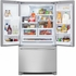 FGHF2366PF Frigidaire Gallery 22.6 Cu. Ft. French Door Counter-Depth Refrigerator - Stainless Steel