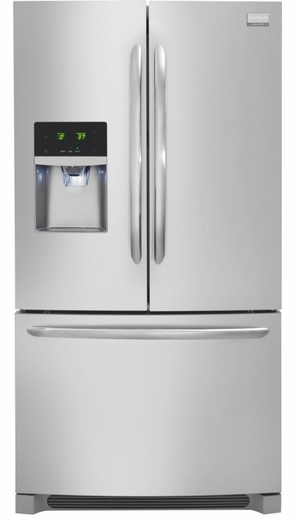 FGHF2366PF Frigidaire Gallery 22.6 Cu. Ft. French Door Counter Depth Refrigerator - Stainless Steel