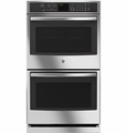 "PT7550SFSS GE Profile Series 30"" Built-In Double Convection Wall Oven - Stainless Steel"