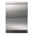 ZIDS240WSS GE Monogram� Double-Drawer Refrigerator Module - Stainless Steel