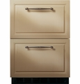 ZIDI240BII GE Monogram� Double-Drawer Refrigerator Module - Custom Panel