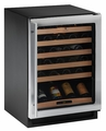2175WCCS-00 U-Line 2000 Series Undercounter 48 Bottle Wine Captain  - Stainless Steel