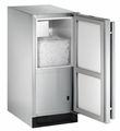 BI-2115SOD-01 U-Line 2000 Series Outdoor Ice Maker - Left Hinged - No Drain Pump - Stainless Steel