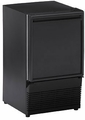 BI95B U-Line 1000 Series Undercounter  Built-In Ice Maker - Black - Field Reversible