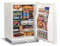 75FWH-13 U-Line Marine Freezer with Lock - 110 Volt - White