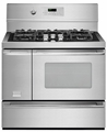 "FPDF4085KF Frigidaire Professional 40"" Freestanding Dual Fuel Range - Stainless Steel"