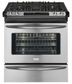 "FGDS3065KF Frigidaire Gallery 30"" Slide-In Dual-Fuel Range - Stainless Steel"