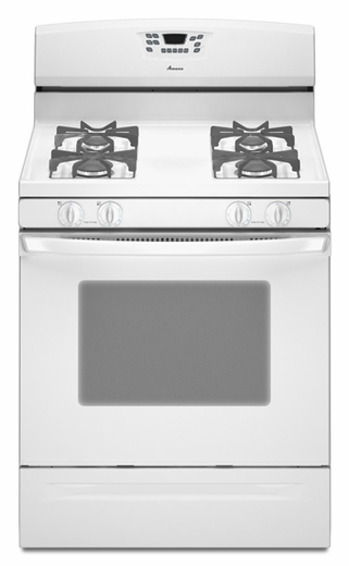 AGR5844VDW Amana 5.0 cu. ft. Self-Cleaning Gas Range - White