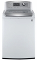 WT5070CW LG 4.7 Cu. Ft. Ultra Large Capacity High Efficiency Top Load Washer with WaveForce - White