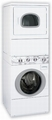 ATG50 Speed Queen Energy Star Front Load Stacked Washer/ Gas Dryer Unit - White