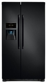 FFSC2323LE Frigidaire 22.6 Cu. Ft. Counter Depth Side-by-Side Refrigerator - Ebony Black