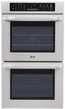 "LWD3010ST LG 30"" Double Built-In Wall Oven - Stainless Steel"