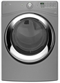 WGD86HEBC Whirlpool Duet Steam 7.4 cu. ft. Front Load Gas Dryer with Wrinkle Shield Plus option - Chrome Shadow