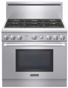 "PRG366GH Thermador 36"" Pro Harmony Gas Pro Style Range with 6 Burners - Stainless Steel"