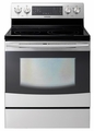 NE595R1ABSR Samsung 5.9 cu. ft. Flex Duo Electric Range - Stainless Steel