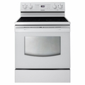 FER300SW Samsung 4 Element Electric Range - White