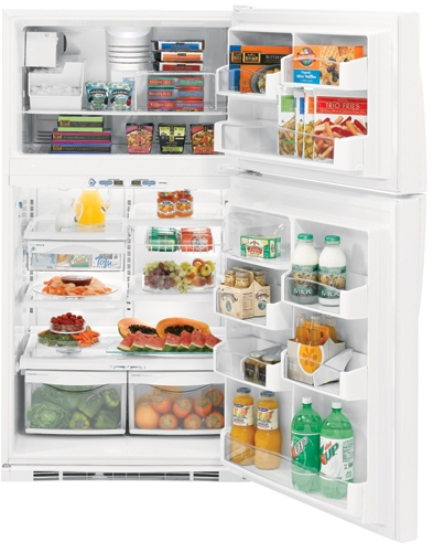 PTS25LHSWW GE Profile� 24.6 Cu. Ft. Top-Freezer Refrigerator with Internal Dispenser - White