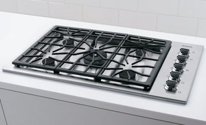 "FPGC3685KS Frigidaire Professional 36"" Gas Drop-In Cooktop - Stainless Steel"
