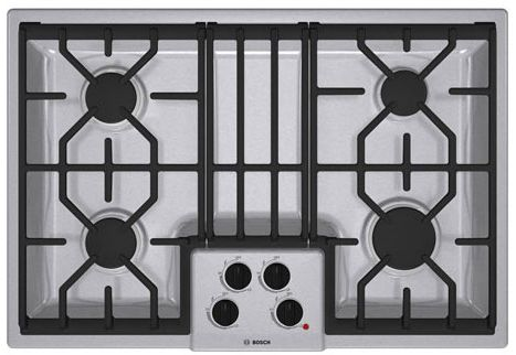 "NGM5054UC Bosch 500 Series 30"" Gas Cooktop - Stainless Steel"