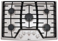 "LCG3011ST LG 30"" Gas Cooktop with SuperBoil - Stainless Steel"