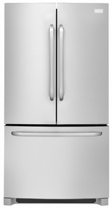 FFHN2740PS Frigidaire 26.7 Cu. Ft. Standard Depth French Door Refrigerator - Stainless Steel