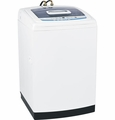WSLS1500JWW GE Space-Saving 2.7 DOE Cu. Ft. Capacity Washer with Stainless Steel Basket - White