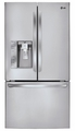 LFX31915ST LG Super-Capacity 3 Door French Door Refrigerator - Stainless Steel